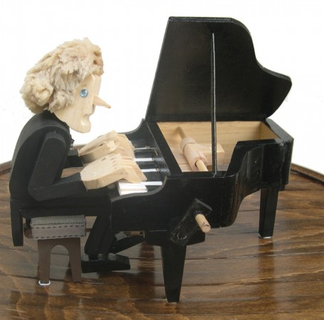Pianist by Martin White