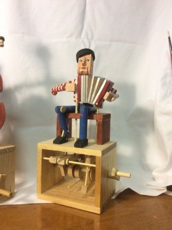 Accordian Player by Dermot Casey