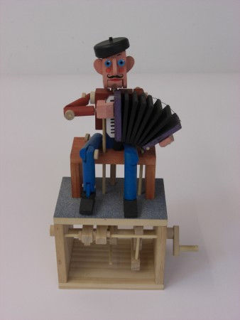 Accordion Player by Peter Massey
